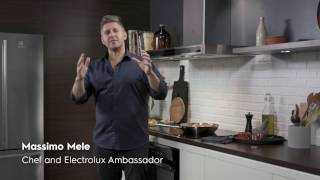 Electrolux Glass Controls and Improved Air Quality