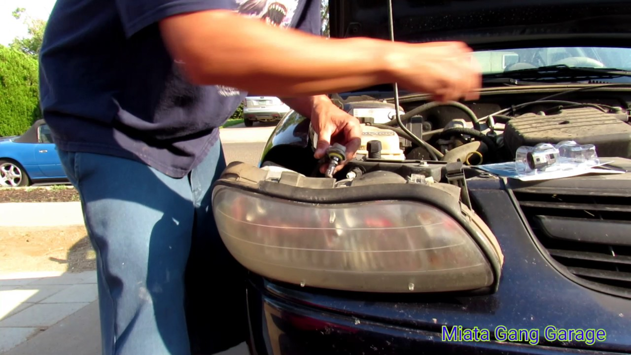 2003 Chevy Malibu Headlight Bulb Replacement