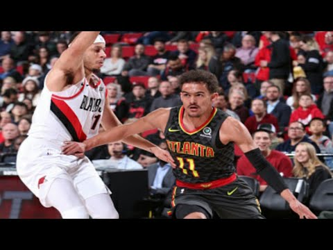Portland Trail Blazers vs Atlanta Hawks 1st Half Highlights| 1/26/2019