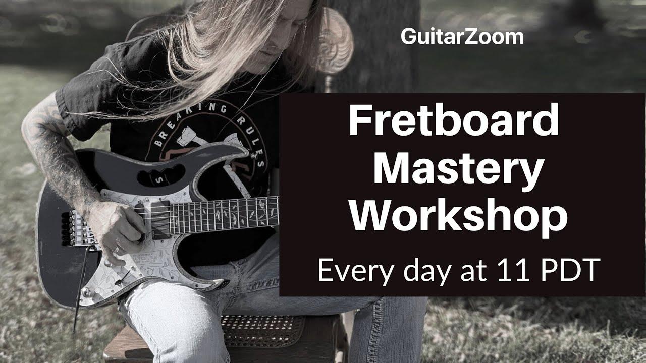 Fretboard Mastery Workshop Announcement