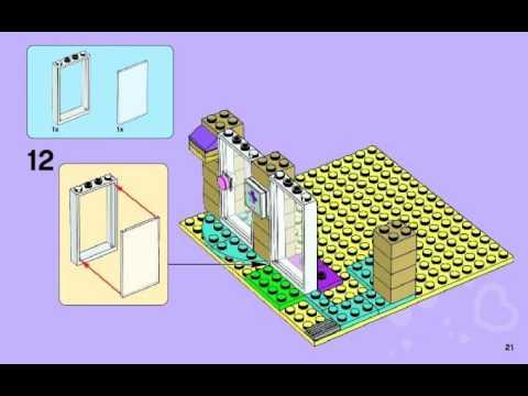 Bauanleitungen Lego 41085 Tierklinik 41085 Youtube
