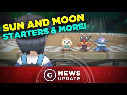 Pokemon Sun & Moon Release Date, Starters, and Legendaries Revealed! - GS News Update
