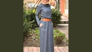 Tesettür Kot Elbise Modelleri İle Stilinizi Yansıtacaksınız