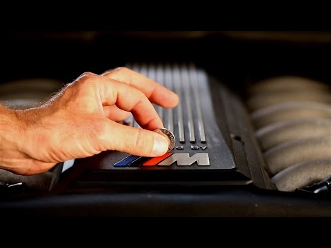 BMW 850CSi V12 10 Pence Coin Engine Balance Test II