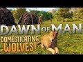 Dawn of Man's Best Friend - Wolf Domestication and Morale Troubles - Dawn of Man Gameplay