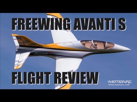 Freewing Avanti S 80mm Edf Flight Review Doovi