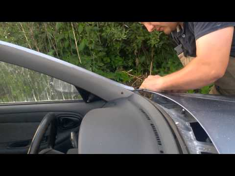 Замена лобовика ланос