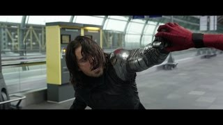 Repeat youtube video The Winter Soldier - Fight Moves Compilation HD