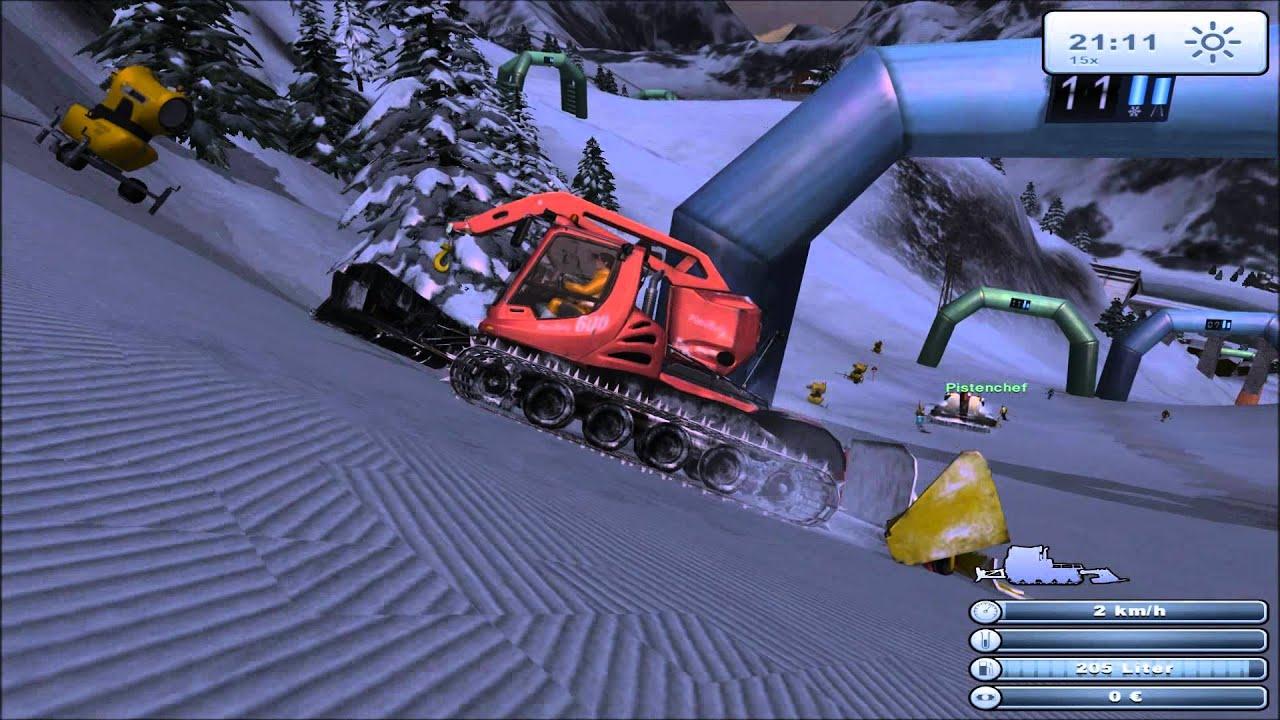 Ski region simulator key generator