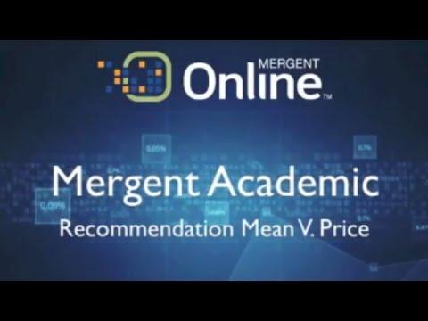 Consensus Estimate -  Recommendation Mean V. Price