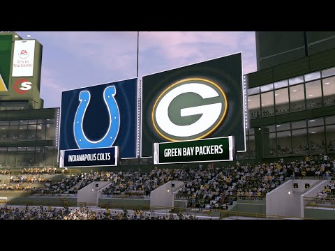 Madden NFL 17 - Indianapolis Colts vs Green Bay Packers (FULL GAME)