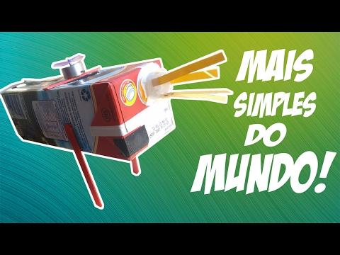 Mini gerador de energia manual movado a manivela de carro