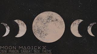 Sabbat Box • Mabon 2018 Official Unboxing Video • Moon Magick