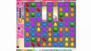 How to play Candy Crush Saga Level 208 - 3 stars - No booster