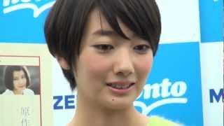 熱愛も結婚もナイナイ?モデルの波瑠(21)が24日、都内で映画「B...