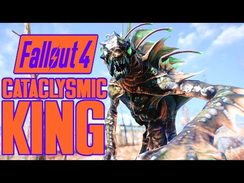 Fallout 4 Boss Mod - CATACLYSMIC GLOWING MIRELURK KING - Legendary Bosses & Giant Creatures - XB1 PC