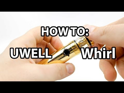 How To: Prime And Fill Uwell Whirl 22 | Vaporleaf