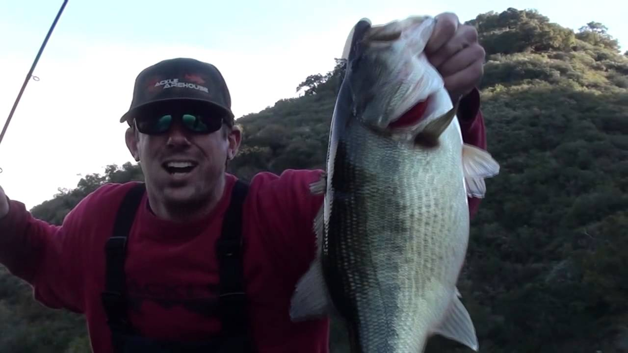 Hookedup bass fishing lopez lake youtube for Lopez lake fishing report