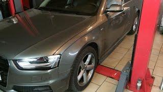 Как поменять масло Audi A4
