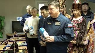 Expedition 33 Post-Landing Activities
