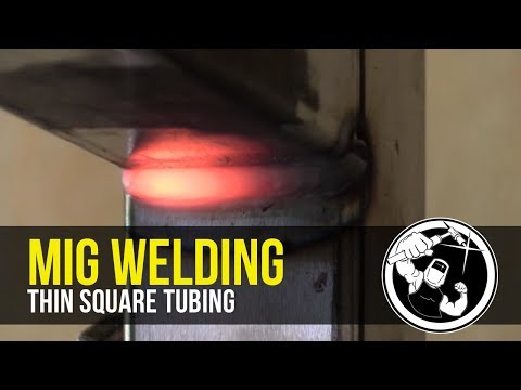 Mig Welding Thin Square Tubing