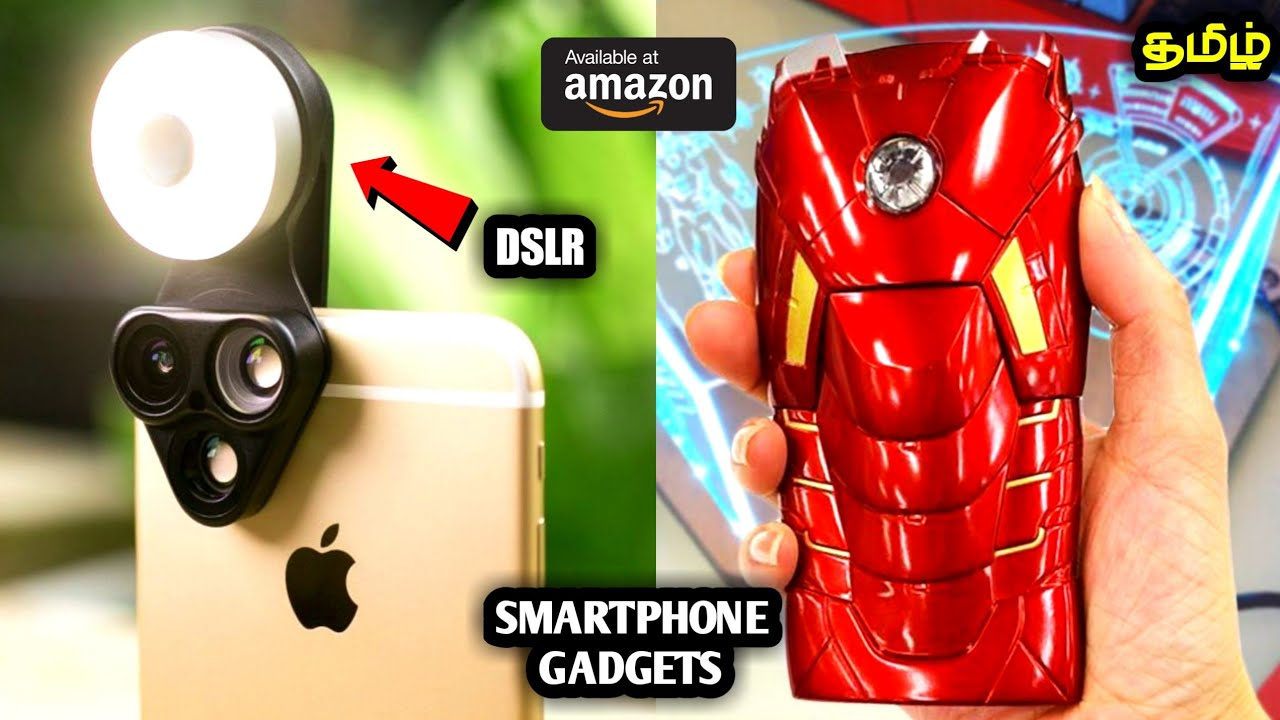 CRAZY SMART PHONE GADGETS THAT YOU MIGHT HAVE NEVER SEEN