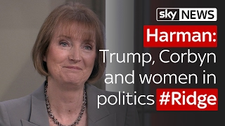 Harriet Harman on Trump, Corbyn and women in politics #Ridge