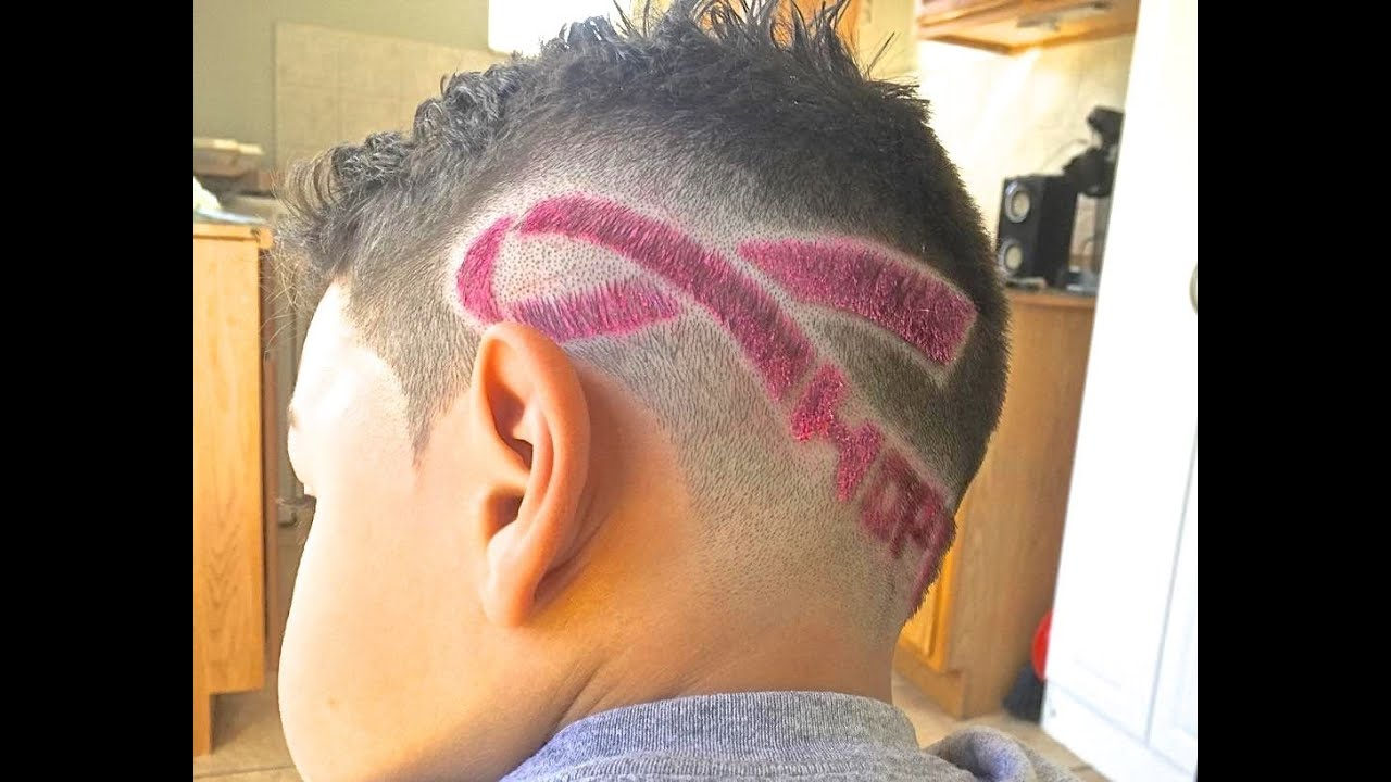''hope'' haircut design
