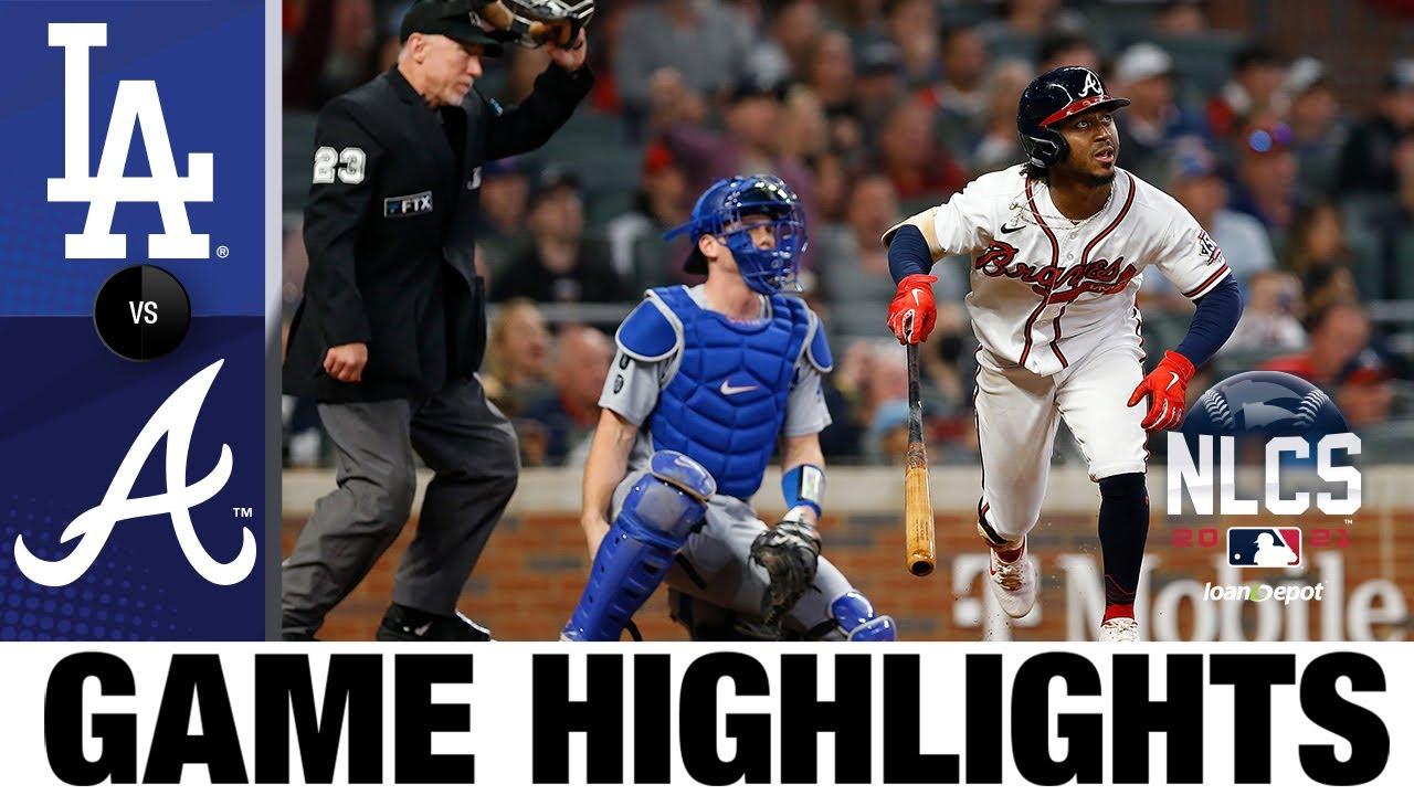 Download Dodgers vs. Braves NLCS Game 6 Highlights (10/23/21) | MLB Highlights