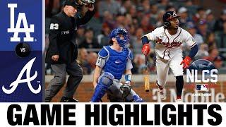Dodgers vs. Braves NLCS Game 6 Highlights (10/23/21)   MLB Highlights