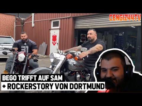 Cengiz44TV reagiert auf Bego besucht Sam bei BadKingzCustoms | Ex Hells Angels President