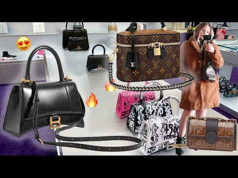 FENDI + BALENCIAGA + LOUIS VUITTON LUXURY SHOPPING VLOG | NEW BAGS & ACCESSORIES FOR 2020 & MORE