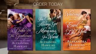 Trailer: Masters of Seduction series by Alexandra Hawkins