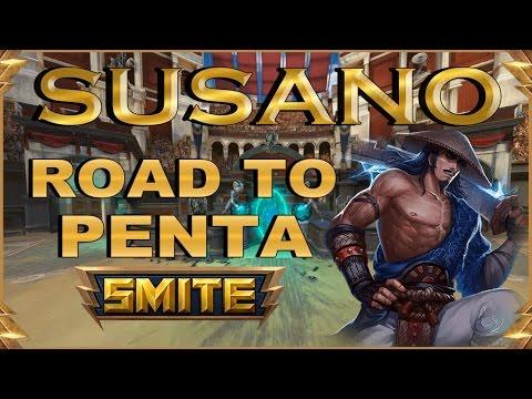 SMITE! Susano, Pues que sera lo proximo?! Road To Penta #5