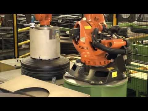 Goodyear Luxembourg Lining Robot