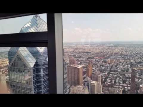 Philadelphia from observation deck