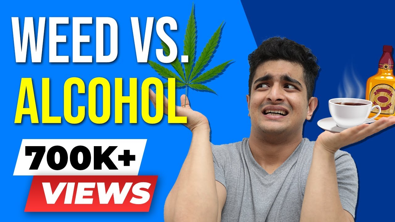 WEED is HEALTHIER than ALCOHOL & COFFEE | CANNABIS & Health 101 | BeerBiceps