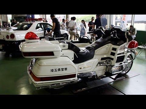 honda gold wing 1500 sidecar japan police bike   youtube