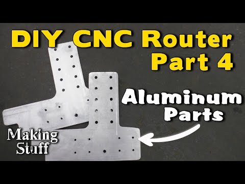 DIY CNC Router - Part 4 Finishing The Y-Axis