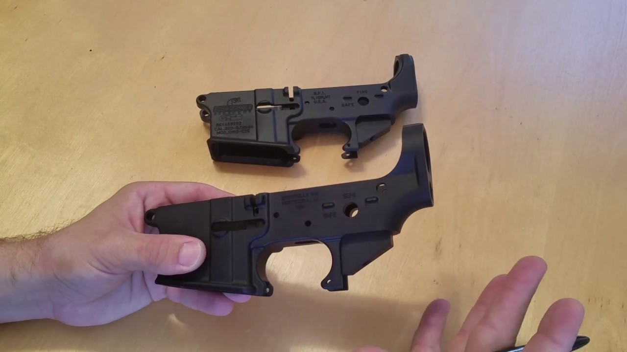 AR-15 A1 vs  A2 Lower Receivers