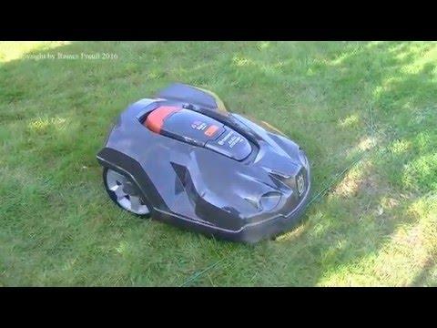 m hroboter test vergleich bosch indego vs husqvarna 305 doovi. Black Bedroom Furniture Sets. Home Design Ideas