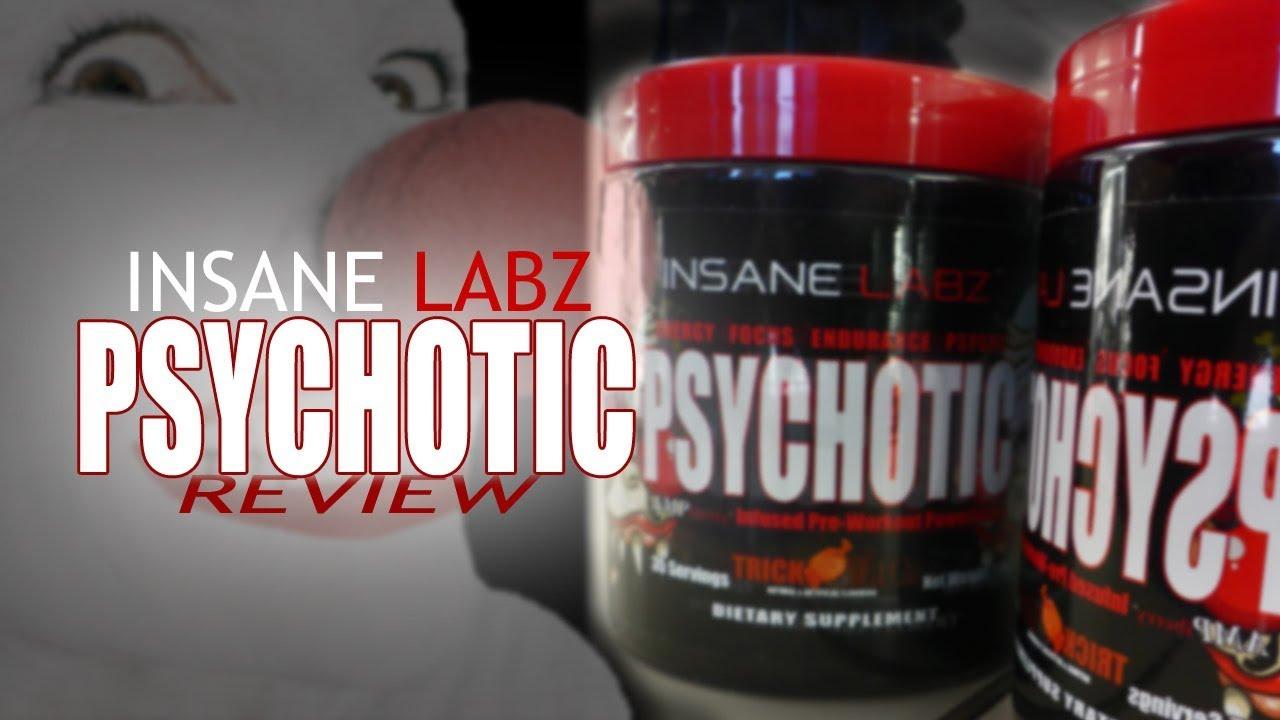 Insane Labz Psychotic Pre Workout Pre Training Formula Review