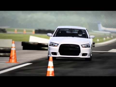 Top Gear - Dodge Charger SRT8 around the test track