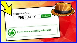 (Expired) February New Promocode On ROBLOX 2019