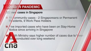 COVID-19 update, July 13: Singapore reports 322 new cases
