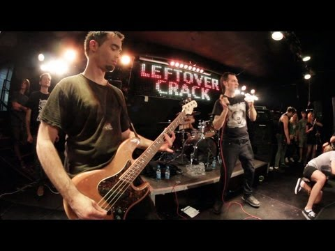 Leftover Crack - Gang Control @ LIVE Moscow 2013