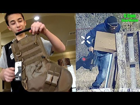 Airsoft Gameplay And The Tactical Stocking!