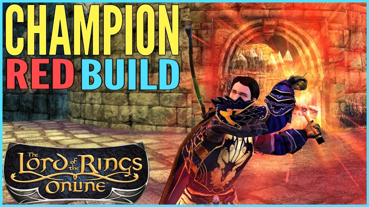 LOTRO Champion Guide: Red Line Trait Build - Leveling/DPS