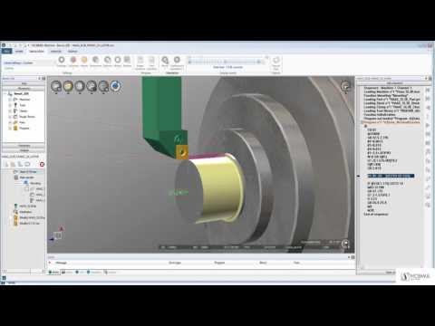 Verify your turning machine programs with macro | Features | NCSIMUL MACHINE