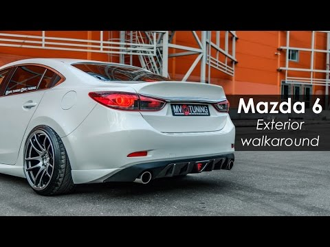 mazda 6 skyactiv sport by mv tuning exterior walkaround. Black Bedroom Furniture Sets. Home Design Ideas